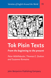 Tok Pisin Texts by Peter Mühlhäusler