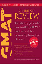 The Official Guide for GMAT Review by GMAC (Graduate Management Admission Council)
