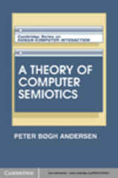 A Theory of Computer Semiotics by Peter Bøgh Andersen