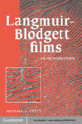 Langmuir-Blodgett Films by Michael C. Petty