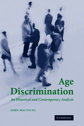 Age Discrimination by John Macnicol