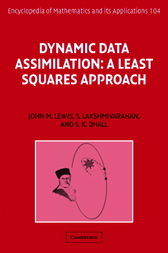 Dynamic Data Assimilation by John M. Lewis
