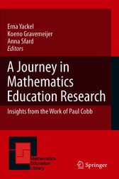A Journey in Mathematics Education Research by Anna Sfard