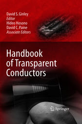 Handbook of Transparent Conductors by David Ginley