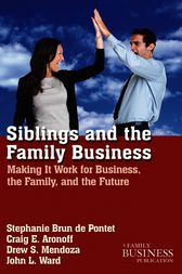 Siblings and the Family Business by Stephanie Brun de Pontet