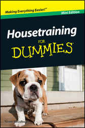 Housetraining For Dummies, Mini Edition by Susan McCullough