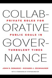 Collaborative Governance by John D. Donahue
