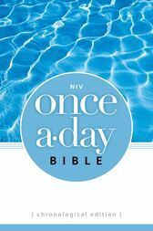 NIV Once-A-Day Bible: Chronological Edition by Zondervan