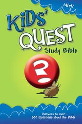 NIrV, Kids' Quest Study Bible, eBook by Zonderkidz
