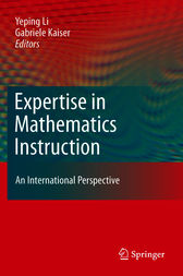 Expertise in Mathematics Instruction by Yeping Li