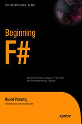 Beginning F# by Robert Pickering