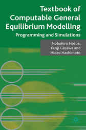 Textbook of Computable General Equilibrium Modeling by Nobuhiro Hosoe