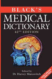 Black's Medical Dictionary by Harvey Marcovitch