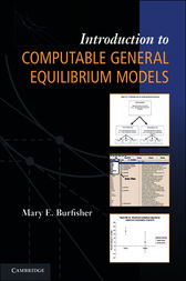 Introduction to Computable General Equilibrium Models by Mary E. Burfisher