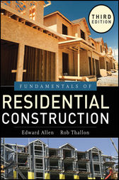Fundamentals of Residential Construction by Edward Allen