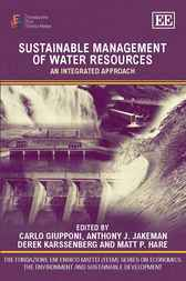 Sustainable Management of Water Resources by Edward Elgar Publishing