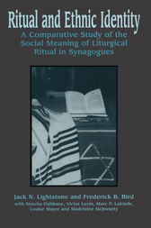 Ritual and Ethnic Identity by Jack N. Lightstone
