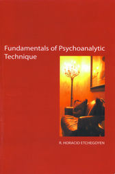 The Fundamentals of Psychoanalytic Technique by R. Horacio Etchegoyen
