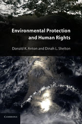 Environmental Protection and Human Rights by Donald K. Anton