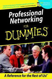 Professional Networking For Dummies by Donna Fisher