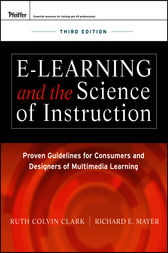 e-Learning and the Science of Instruction by Ruth C. Clark