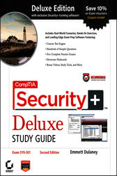 CompTIA Security+ Deluxe Study Guide Recommended Courseware by Emmett Dulaney