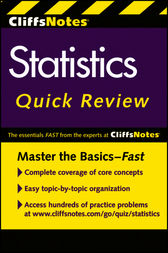 CliffsNotes Statistics Quick Review