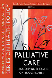 Palliative Care by Diane E. Meier