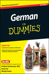 German For Dummies by Paulina Christensen