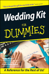 Wedding Kit For Dummies by Marcy Blum
