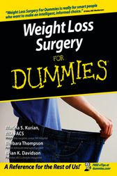 Weight Loss Surgery For Dummies by Marina S. Kurian