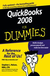 QuickBooks 2008 For Dummies by Stephen L. Nelson