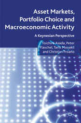 Asset Markets, Portfolio Choice and Macroeconomic Activity