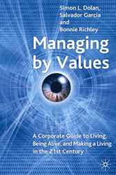 Managing by Values by Simon L. Dolan