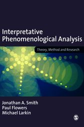 Interpretative Phenomenological Analysis by Jonathan A Smith