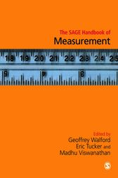 The SAGE Handbook of Measurement by Geoffrey Walford
