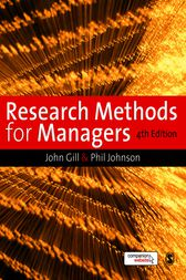Research Methods for Managers by John Gill