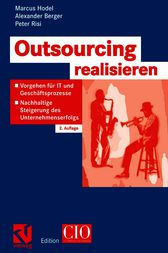 Outsourcing realisieren by Marcus Hodel
