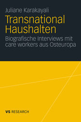 Transnational Haushalten by Juliane Karakayali