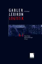 GABLER LEXIKON LOGISTIK