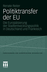 Politiktransfer der EU by Renate Reiter