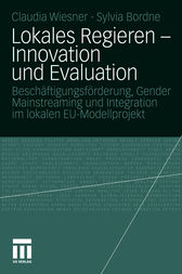 Lokales Regieren - Innovation und Evaluation by Claudia Wiesner