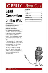 Lead Generation on the Web by Thomas Myer