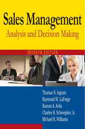 Sales Management by Thomas N. Ingram