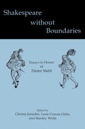 Shakespeare without Boundaries by Christa Jansohn
