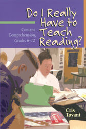Do I Really Have to Teach Reading?