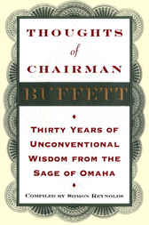 Thoughts of Chairman Buffett by Siimon Reynolds