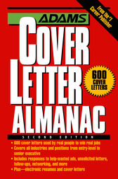 Adams Cover Letter Almanac by Richard Wallace