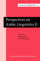 Perspectives on Arabic Linguistics by Mushira Eid