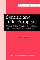 Semitic and Indo-European by Saul Levin